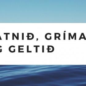 Vatnið, gríman og geltið