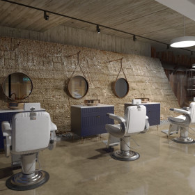 Fit for Vikings Barbershop