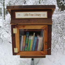 The Little Free Library in Reykjavík