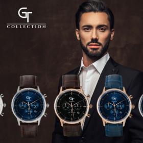 Slovenska modna blagovna znamka GT collection moških ur in dizajnerskega nakita