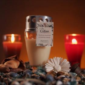 EDINA, ekološka nagrobna sveča
